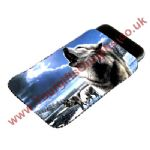 Personalised Wolf Mobile Phone Pouch | Wolf Call